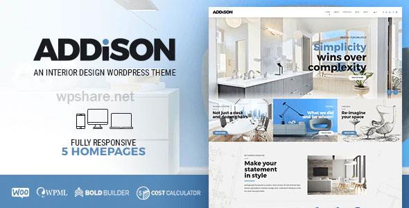 Addison 1.3.0 – Architecture & Interior Design
