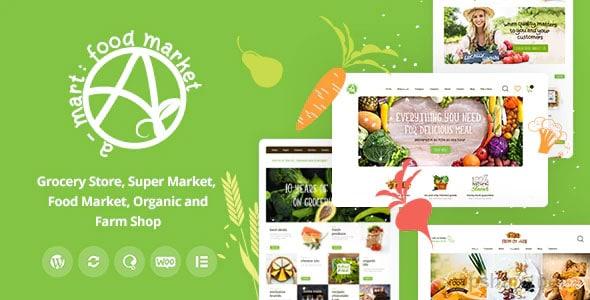 A-Mart 1.0.2 – Organic Products Shop WordPress Theme