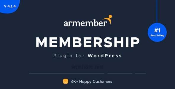 ARMember 4.3.1 + Addons – WordPress Membership Plugin