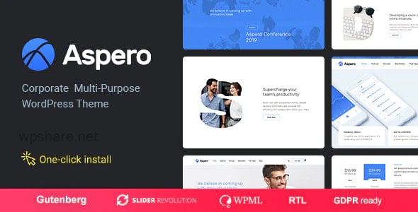 Aspero 1.0.5 – Business WordPress Theme