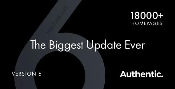 Authentic 7.0 – Lifestyle Blog & Magazine WordPress Theme