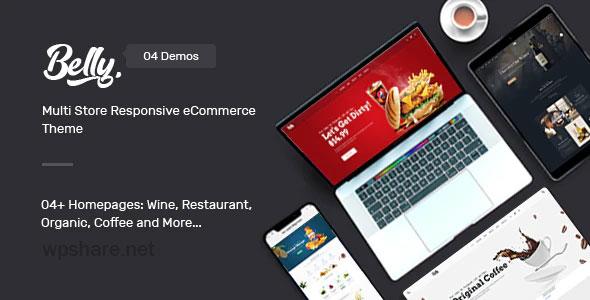 Belly 1.0.9 – Multipurpose Theme for WooCommerce WordPress