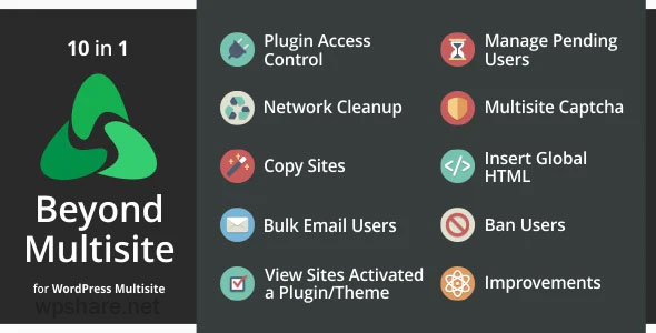 Beyond Multisite 1.12.0 – Utilities for WordPress Network Admins