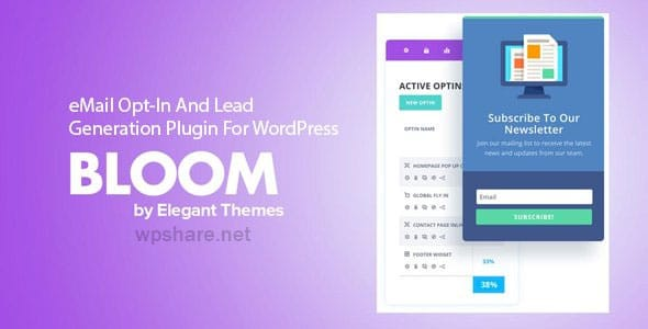 Bloom 1.3.12 – eMail Opt-In And Lead Generation Plugin For WordPress