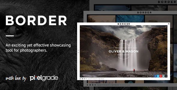 Border 1.9.3 – A Delightful Photography WordPress Theme