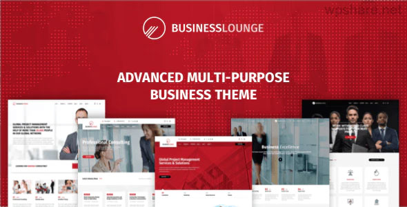 Business Lounge 1.9.6 – Multi-Purpose Consulting & Finance Theme