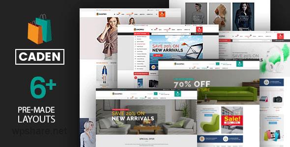Caden 1.4.0 – Mega Store Responsive WordPress Theme