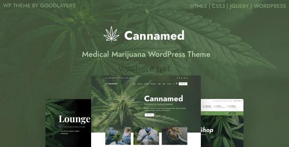 Cannamed 1.0.5 – Cannabis & Marijuana WordPress Theme