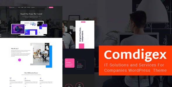 Comdigex 1.7 – IT Solutions and Services Company WP Theme