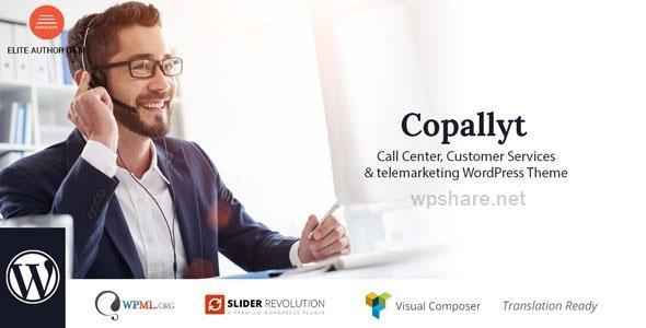 Copallyt 3.6 – Call Center & Telemarketing WordPress Theme