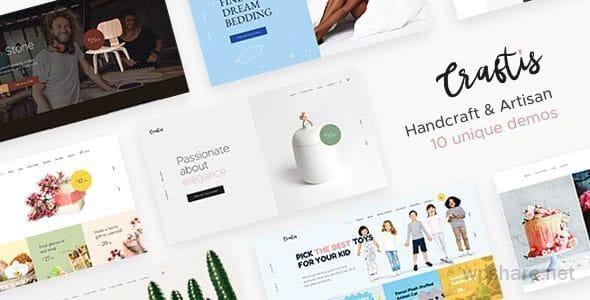 Craftis 1.0.1 – Handcraft & Artisan WordPress Theme for Creatives