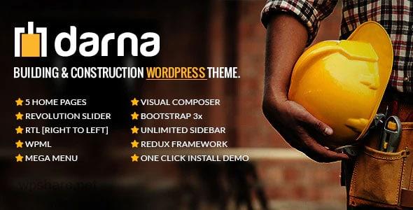 Darna 1.2.8 – Building & Construction WordPress Theme