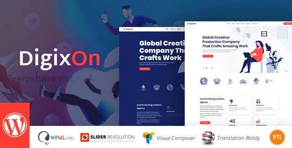 Digixon 2.1 – Digital Marketing Strategy WP Theme