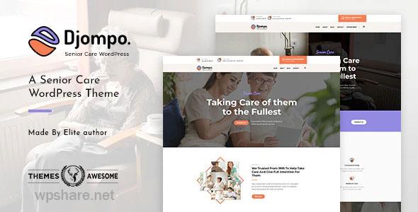 Djompo 1.4 – Senior Care WordPress Theme