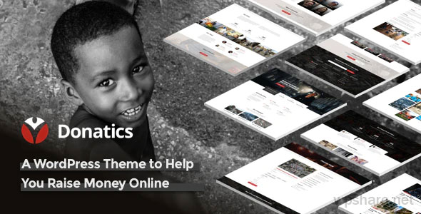 Donatics 1.2.48 – Charity & Fundraising WordPress Theme