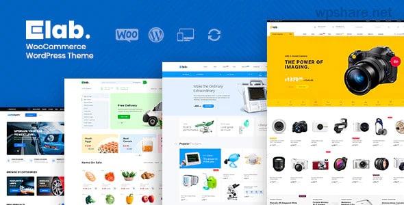 eLab 1.2.3 – WooCommerce Marketplace WordPress Theme