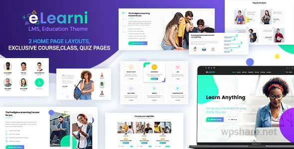 eLearni 2.1 – Online Learning & Education LMS
