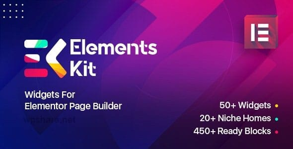 Elements Kit Widgets 2.2.2 – Addon for elementor page builder