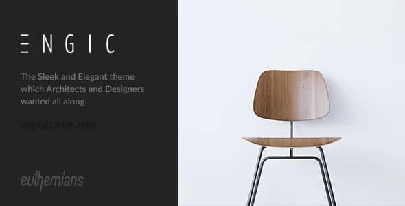 Engic 2.3.2 – A Sleek Multiuse Responsive WordPress Theme