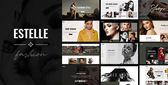 Estelle 1.0 – Fashion and Modelling Agency Theme