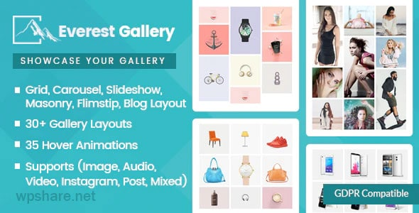 Everest Gallery 1.0.6 – Responsive WordPress Gallery Plugin