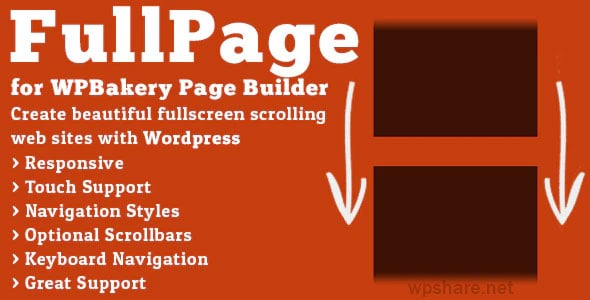 FullPage for WPBakery Page Builder v2.1.4