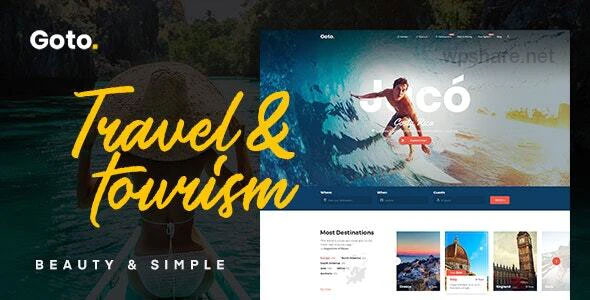 Goto 2.1 – Tour & Travel WordPress Theme