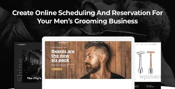 Groomly 1.2.48 – Men's Grooming WordPress Theme