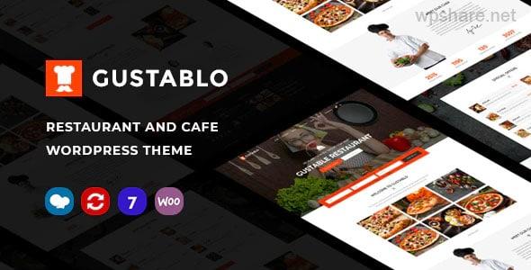 Gustablo 1.14 – Restaurant & Cafe Responsive WordPress Theme