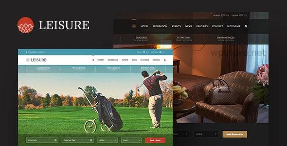 Hotel Leisure WordPress Theme v2.1.18