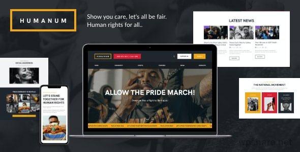 Humanum 1.0.2 – Human Rights WordPress Theme