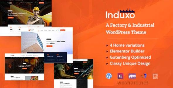 Induxo 1.7.0 – Industry WordPress Theme
