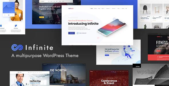 Infinite 3.4.3 – Multipurpose WordPress Theme