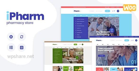 IPharm 1.0.1 – Online Pharmacy & Medical WordPress Theme