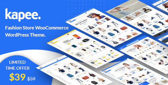Kapee 1.3.9 – Modern Multipurpose WooCommerce Theme
