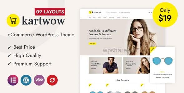 Kartwow 1.0 – Multipurpose WooCommerce Theme