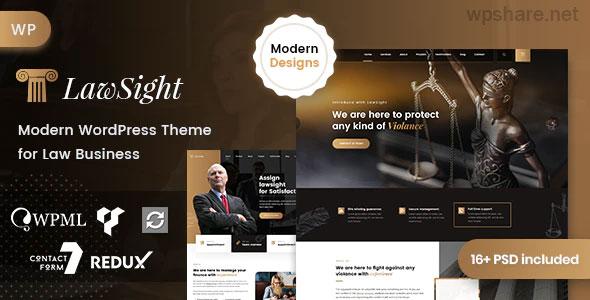 Lawsight 1.1.1 – Law & Lawyer WordPress