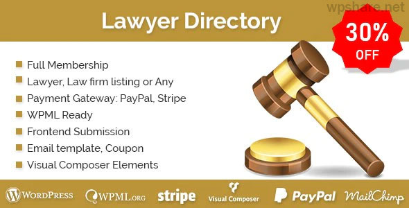 Lawyer Directory v1.2.5