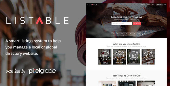 Listable 1.15.2 – A Friendly Directory WordPress Theme