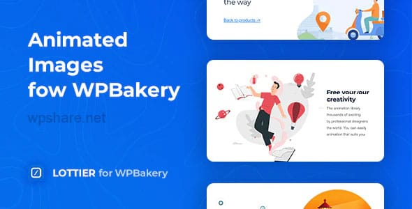 Lottier 1.0.2 – Lottie Animated Images for WPBakery