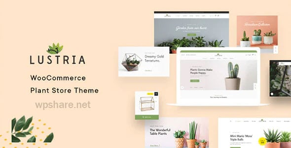 Lustria 2.2 – MultiPurpose Plant Store WordPress Theme