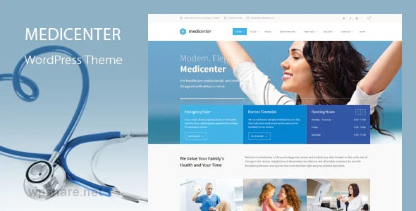 MediCenter 12.9 – Health Medical Clinic WordPress Theme