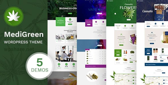 MediGreen 1.1.1 – Cannabis & Medical Marijuana Shop