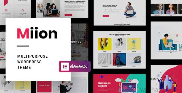 Miion 1.2.2 – Multi-Purpose WordPress Theme
