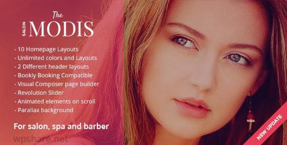 Modis 1.3.0 – Salon & Barber WordPress Theme