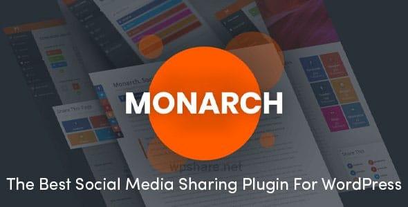 Monarch 1.4.14 – Best Social Media Sharing Plugin For WordPress