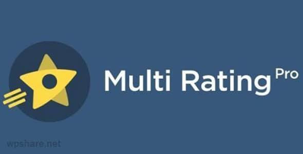 Multi Rating Pro v6.0.6 – WordPress Plugin