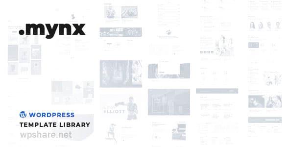 Mynx 1.27.9 – WordPress Templates Library