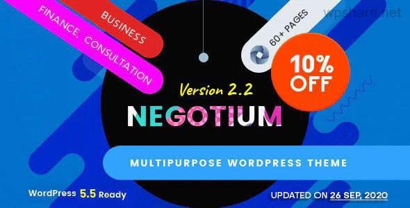 Negotium 2.2 – Multipurpose Business WordPress Template