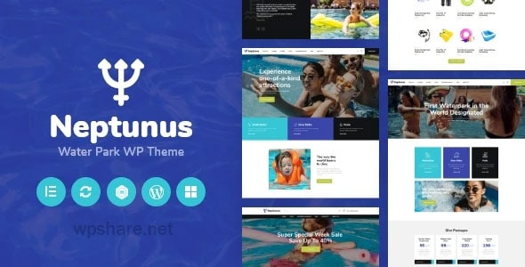 Neptunus 1.0.0 – Water & Amusement Park WordPress Theme